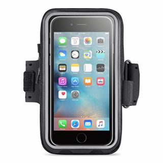 Product image of Belkin Storage Plus Armband with Zip Closure (Black) for iPhone 6 Plus and iPhone 6s Plus