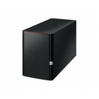 Product image of Buffalo LinkStation 220 2TB (2 x 1TB) Network Attached Storage Device with WD RED Hard Disk Drives