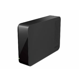 Product image of Buffalo DriveStation 1TB Quiet Versatility External SATA USB 3.0 Hard Drive (Black)
