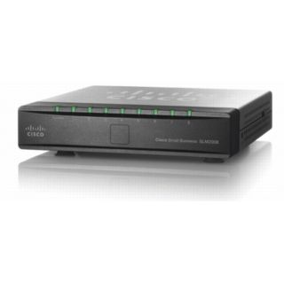 Product image of Cisco SLM2008 8-Port 10/100/1000 Gigabit Smart Switch with PD and AC Power