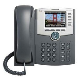 Product image of Cisco - Small Business 5-Line IP Phone With Color Display Poe 802.11G Bluetooth