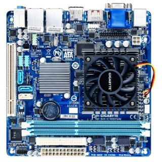 Product image of Gigabyte GA-C1007UN Motherboard Built-In Intel Dual-Core Celeron 1007U NM70 MITX Gigabit LAN (rev. 1.0)