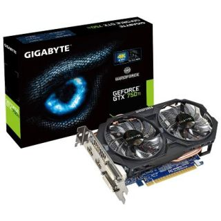 Product image of Gigabyte GeForce GTX 750 Ti 2GB Graphics Card PCI-E DVI HDMI