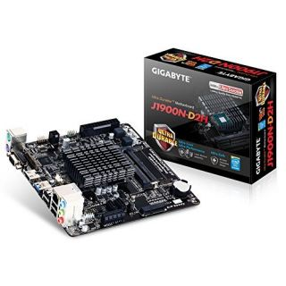 Product image of Gigabyte J1900N-D2H Motherboard with Built-in Intel Celeron Quad-Core J1900 SoC (2.0GHz) Mini-ITX Gigabit LAN (Integrated Graphics)
