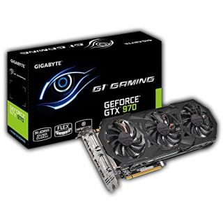 Product image of Gigabyte GeForce GTX 970 4GB G1 Gaming Graphics Card PCI-E HDMI/DisplayPort/DVI-D/Dual-Link DVI-I