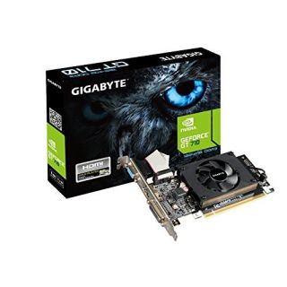 Product image of Gigabyte GeForce GT 710 (1GB) Graphics Card 954MHz DDR3 PCI-E Dual-Link DVI-D/HDMI/D-SUB