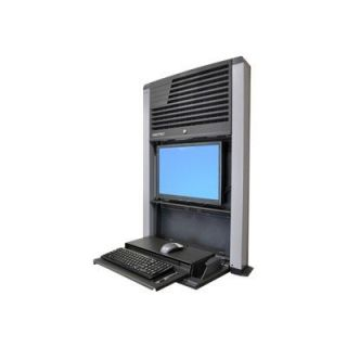Product image of Ergotron StyleView Sit-Stand Enclosure (Black)