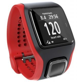Product image of TomTom Runner Cardio GPS Watch with Heart Rate Monitor (Red/Black)