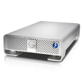 Product image of [Refurbished] G-TECH - APPLE GLOBAL STORAGE G-DRIVE THUNDERBOLT 4TB EMEA GDRETHU3EB40001BDB SILVER USB3.0 IN (Opened but as new)