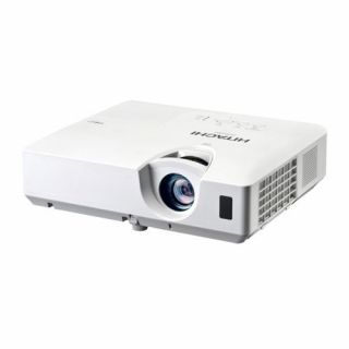 Product image of Hitachi Projector  CP-EW250N  2500 ANSI Lumens(2000 eco)  WXGA  3.1kg  2000:1 contrast ratio  Lens 1.5 to 1.8:1  5000 hr lamp life/6000  eco mode   Urethane Filter (2000 hr change) 2 x data (2nd shared in/out) HDMI  Composite