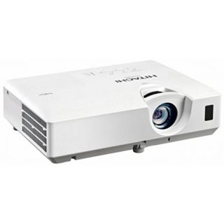 Product image of HITACHI CP-EW301N Hitachi Projector  CP-EW301N  3200 ANSI Lumens(2100 eco)  WXGA  2.9kg  2000:1 contrast ratio  Lens 1.5 to 1.8:1  5000 hr lamp life/6000  eco mode   Urethane Filter (2000 hr change) 2 x data (2nd shared in/out) HDMI  Composite