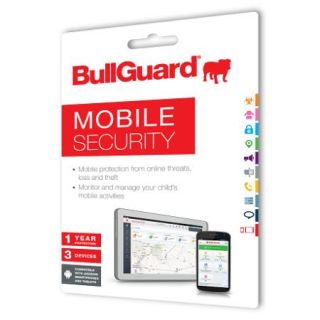 Product image of BULLGUARD BG1480-S Bullguard New Mobile Internet Security, 1 Year, 3 Devices, Retail (Single)