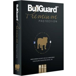 Product image of BULLGUARD PREMIUM PROTECTION 1YR 3USR SINGLE PACK IN