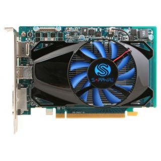Product image of Sapphire Radeon HD 7750 1024MB Overclocked Graphics Card PCI-E DisplayPort DVI-I HDMI