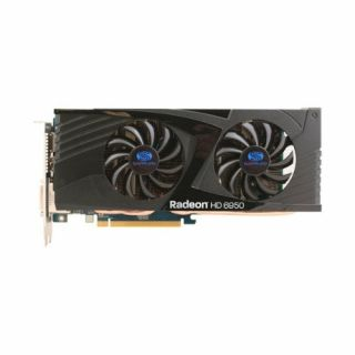Product image of Sapphire Radeon HD 6950 Overclocked 2048MB Graphics Card PCI-E DisplayPort DVI-I DVI-D HDMI