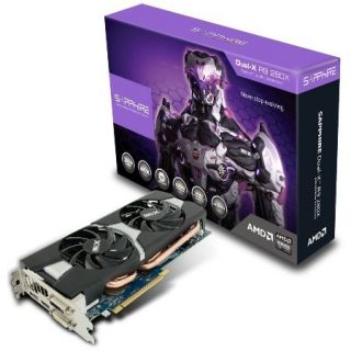 Product image of Sapphire Radeon R9 280X Overclocked Dual-X 3GB Graphics Card PCI-E DVI HDMI DisplayPort (Full Retail)