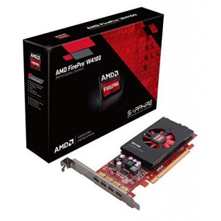 Product image of Sapphire AMD FirePro W4100 2GB Graphics Card GDDR5 PCI-E Mini-DisplayPort
