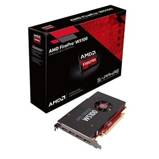 Product image of Sapphire AMD FirePro W5100 4GB Graphics Card GDDR5 PCI-E DisplayPort