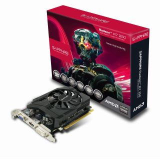 Product image of SAPPHIRE TECHNOLOGY RADEON R7 250 2GB GDDR5 512SP PCI-E VGA DVI-D HDMI DP UEFI IN