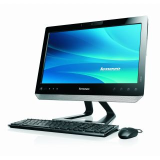 Product image of Lenovo Essential C320 (20 inch Multi-touch) All-in-One Desktop PC Celeron (G530) 2.4GHz 4GB 500GB DVD±RW WLAN Webcam Windows 7 HP 64-bit (Intel HD Graphics) Black