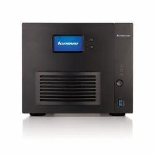 Product image of LenovoEMC IX4-300D Fully Populated 4-Bay Network Storage Marvell Armada XP (1.3GHz) 512MB 12TB (4x3TB) LAN USB3.0 (Black)