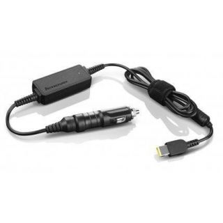 Product image of [Ex-Demo] Lenovo 65W DC Travel Adaptor (Black) for ThinkPad Notebooks (as new)