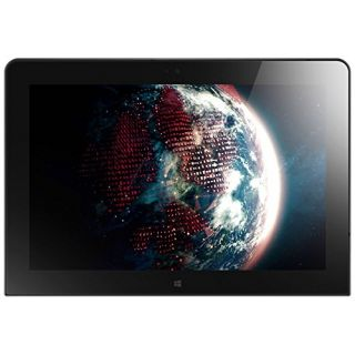 Product image of Lenovo ThinkPad 10 2nd Gen (10.1 inch Multi-touch) Tablet PC Atom (x7-Z8700) 1.6GHz 4GB 64GB Flash WLAN WWAN BT Webcam Windows 10 Home 64-bit (Integrated Graphics) Black