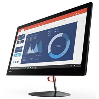 Product image of Lenovo ThinkCentre X1 (23.8 inch) All-In-One Desktop PC Core i7 (6600U) 2.6GHz 8GB (1x8GB) 256GB SSD WLAN BT Webcam Windows 7 Pro/Windows 10 Pro 64-bit RDVD (Intel HD Graphics 520)