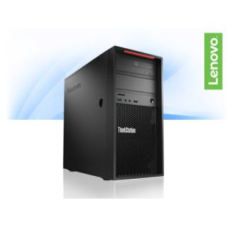 Product image of Lenovo ThinkStation P310 Tower Workstation Xeon E3 (1225 v5) 3.3GHz 4GB (1x4GB) 1TB DVD±RW LAN Windows 7 Pro 64-bit/Widows 10 Pro 64-bit RDVD (Intel HD Graphics P530)