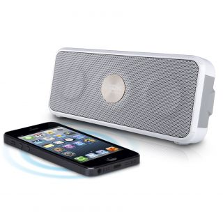 Product image of TDK A26 Weatherproof Wireless Pocket-Sized Speaker (White)