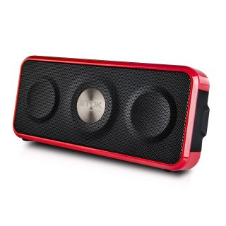 Product image of TDK A26 Weatherproof Wireless Pocket-Sized Speaker (Red/Black)