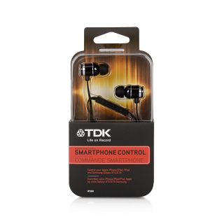 Product image of TDK IP300 In Ear Headphones with In-Line Microphone (Black)