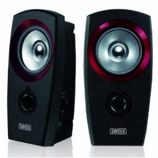 Product image of Sweex 2.0 Speaker Set USB (Red)