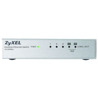 Product image of ZYXEL - SWITCHING ES-105A V3 5 PORT DESKTOP FAST ETHERNET SWITCH IN
