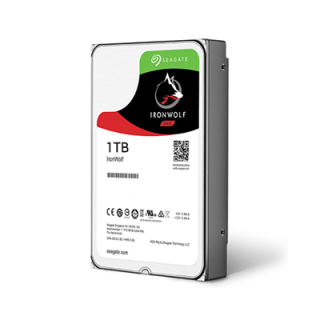 Product image of SEAGATE - NAS HDD DESKTOP IRONWOLF 1TB NAS 3.5IN 6GB/S SATA 64MB