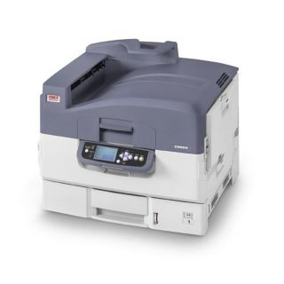 Product image of OKI C9655N (A3/A4) Colour LED Printer Networked 19ppm (A3) 36ppm (A4) 760 Sheets