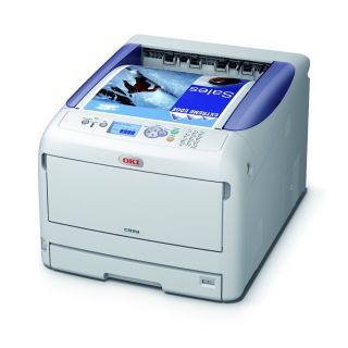 Product image of OKI C822dn (A3/A4) Colour LED Printer (Duplex, Network Ready) 256MB 1200x600dpi 13ppm (A3) 23ppm (A4) 400 Sheets USB/Ethernet (PCL 6, PCL5c, SIDM)