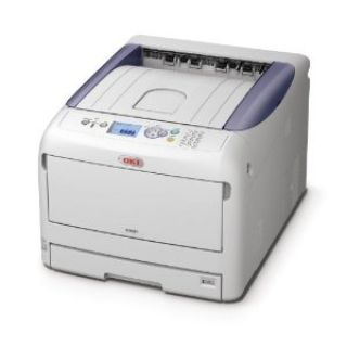 Product image of OKI C831n (A3/A4) Colour LED Printer (Network Ready) 256MB 1200x600dpi 20ppm (A3) 35ppm (A4) 400 Sheets USB/Ethernet (PCL 6, PCL5c, PS3, SIDM, PDF)