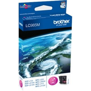Product image of Brother LC985M Magenta (Yield 260 Pages) Inkjet Cartridge