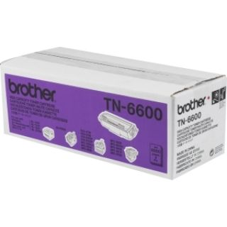 Product image of Brother TN-6600 Toner Cartridge (Up To 6,000 A4 Pages @ 5% Coverage)