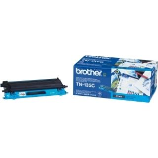 Product image of Brother TN-135C Cyan Toner Cartridge (Yield 4000 Pages) for HL-4040CN/HL-4050DN/HL-4070CW