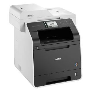Product image of Brother MFC-L8850CDW (A4) Duplex Colour Laser All-in-One Printer (Print/Copy/Scan/Fax) 256MB 4.85 inch Colour Touch Screen LCD 32ppm 60,000 (MDC) (Wireless/Network Ready)