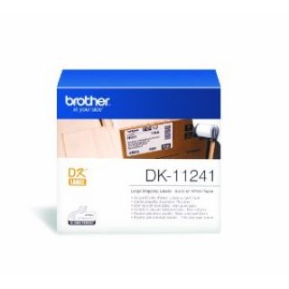 Product image of Brother P-touch DK-11241 (102mm x 152mm) Large Shipping Labels (200 Labels)