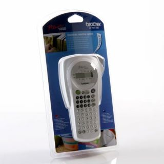 Product image of Brother Pro-Touch PT-1000 Handheld Labelling Machine for Tapes 6, 9 and 12mm (White)