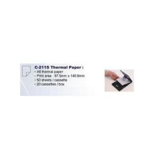 Product image of Brother C-211S (A6) Thermal Paper for MW-260 Mobile Printer