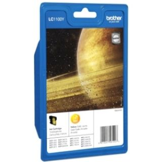 Product image of Brother LC1100Y Yellow (Yield 325 Pages) Ink Cartridge