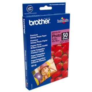 Product image of Brother BP61GLP Innobella Premium Plus Glossy (6 x 4 inch) Photo Paper (Pack of 50 Sheets)