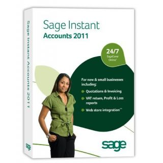 Product image of Sage Instant Accounts 2011 (V17) Software (Single User)