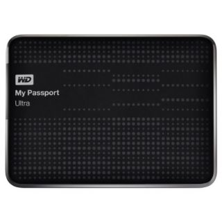 Product image of WD My Passport Ultra 1TB USB 3.0 Portable Hard Drive (Black)