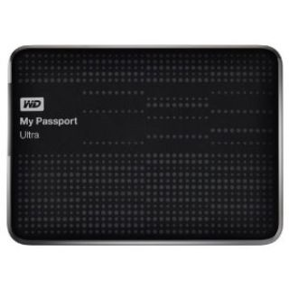 Product image of Western Digital My Passport Ultra 500GB USB 3.0 Portable Hard Drive (Black)